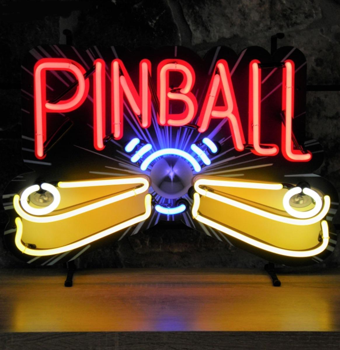Pinball Neon Verlichting 62 x 42 cm