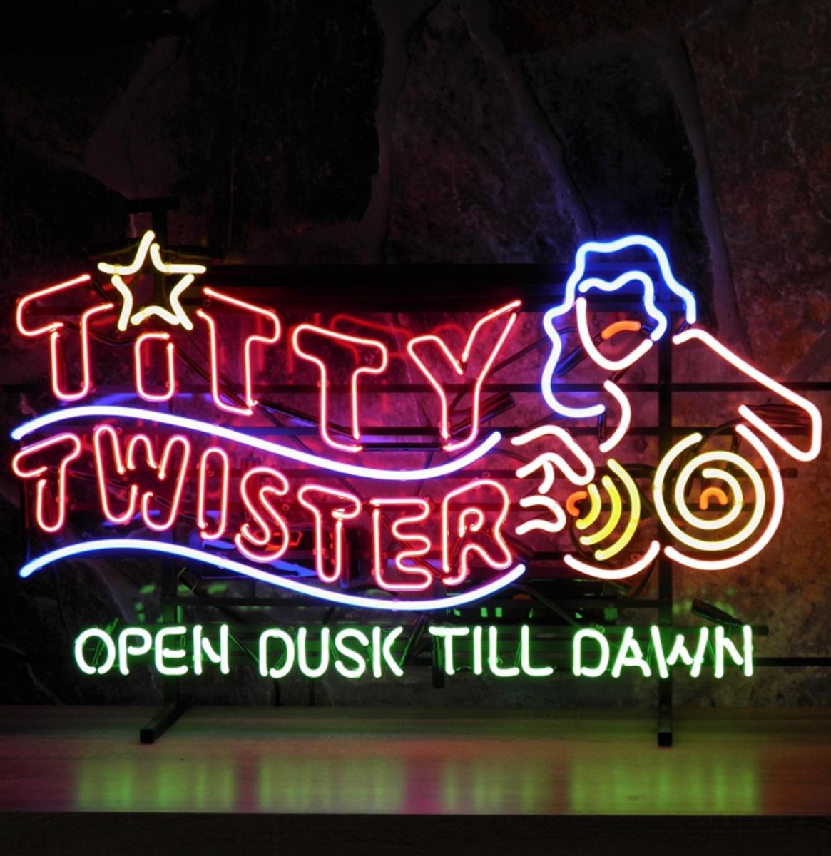 From Dusk Till Dawn Titty Twister Neon Verlichting 100 X 60 Cm