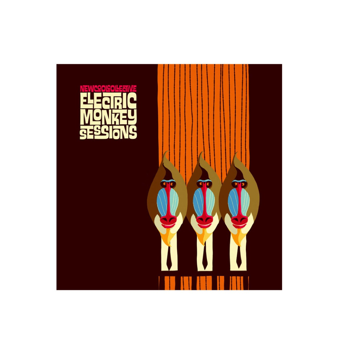 New Cool Collective - Electric Monkey Sessions LP Limited Edition Coloured Vinyl