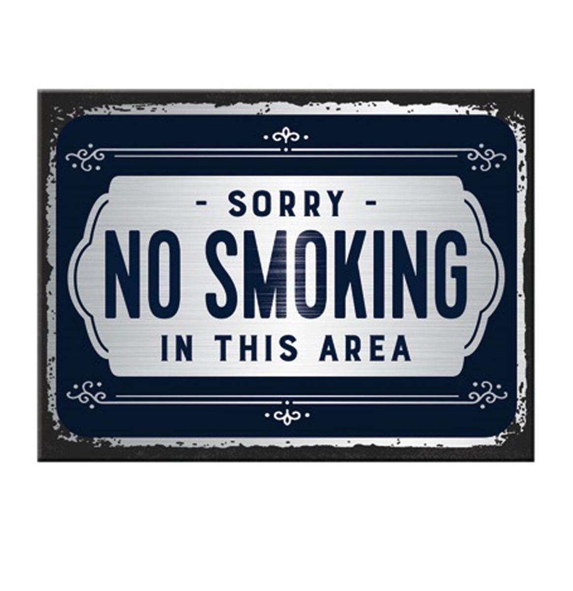 Magneet Sorry, No Smoking