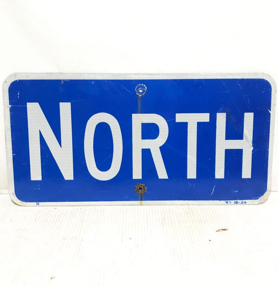 North Snelweg Bord - Origineel
