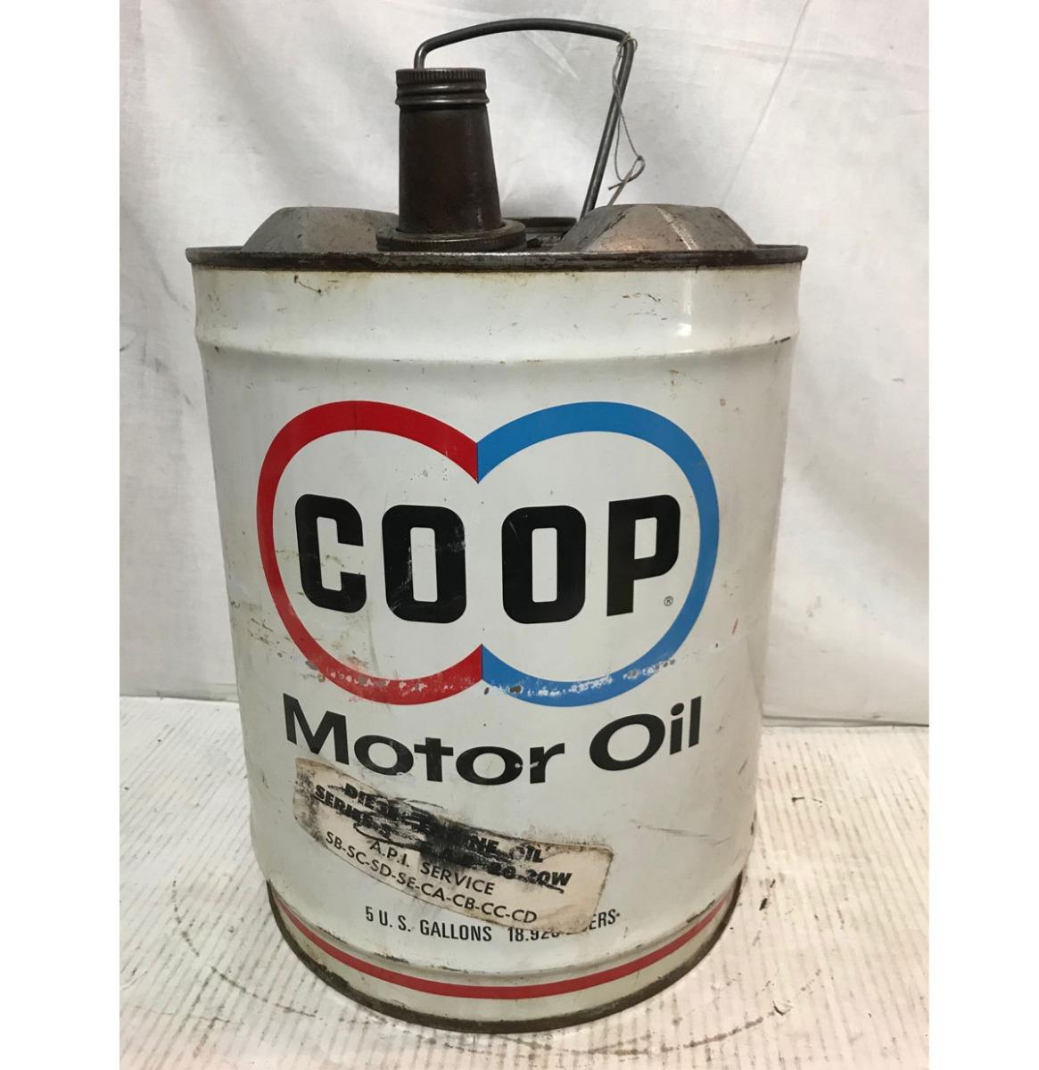 COOP Motor Olieblik