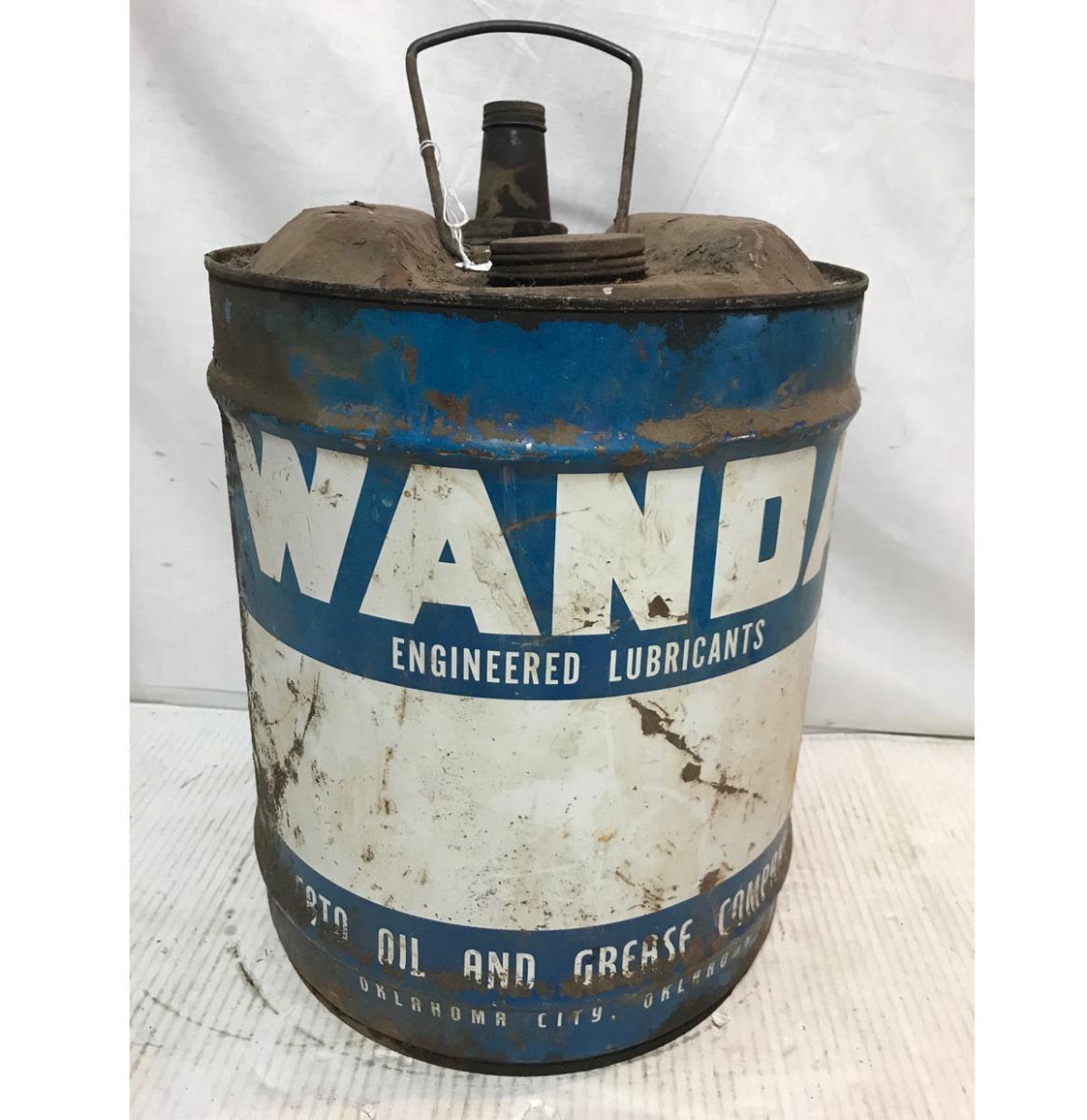 Wanda Engineered Lubricants Olieblik