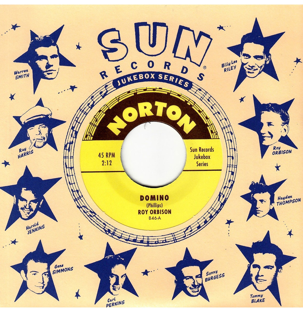 Single: Roy Orbison - Domino - Everybody's Trying To Kiss My Baby (Gene Ross)