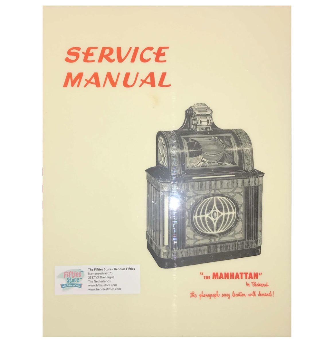 Packard Manhattan Jukebox Service Manual