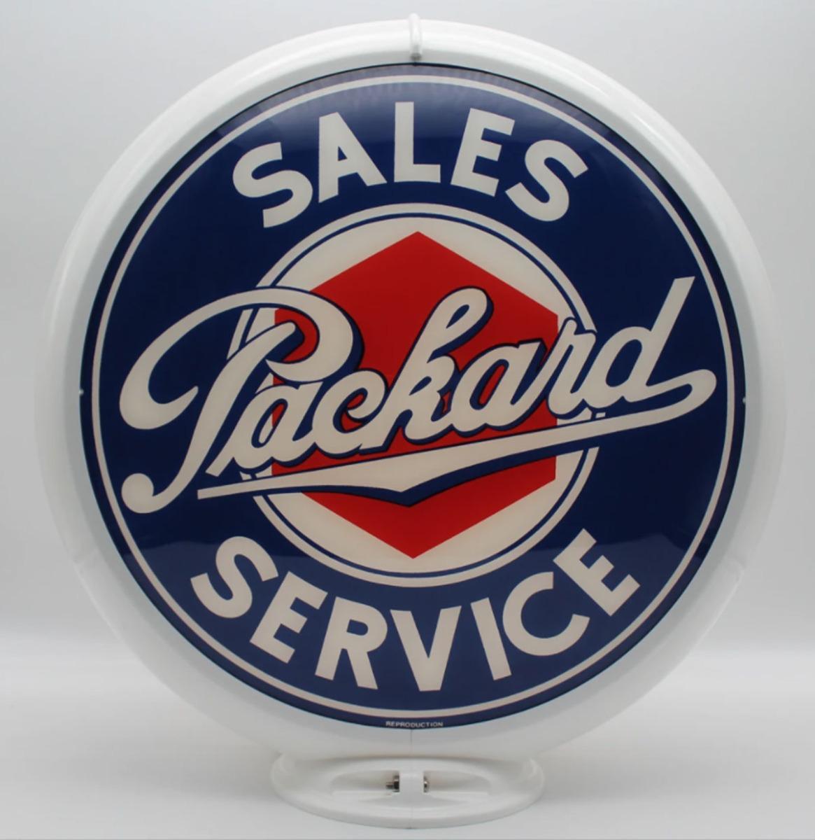 Packard Sales & Service Benzinepomp Bol