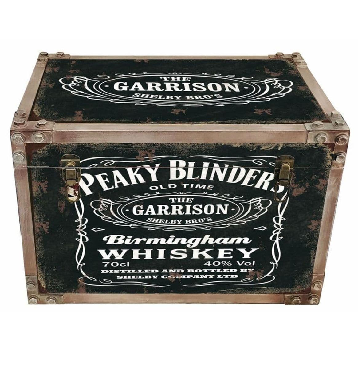 Peaky Blinders 30cm Kist Met Metaal Effect