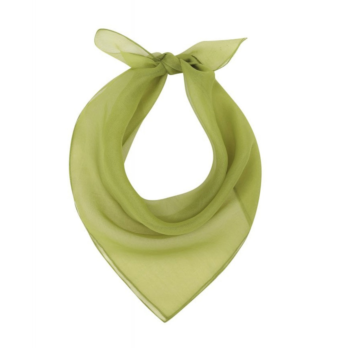 Peggy Scarf Chartreuse Lime