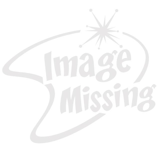 Gepersonaliseerd Blauw/Wit Caroll Shelby Cobra Kussen (40x40 cm)