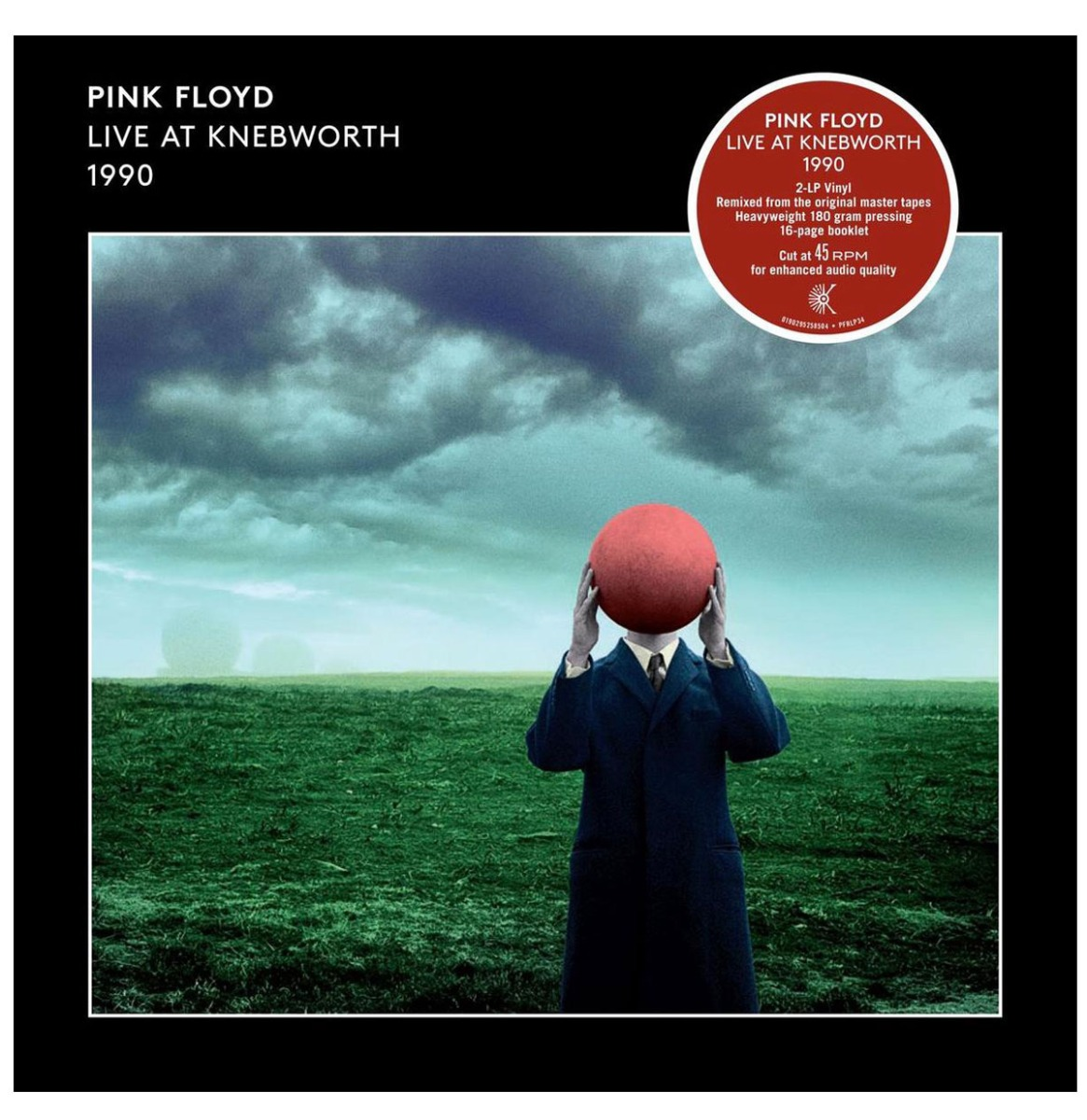 Pink Floyd - Live At Knebworth 1990 2LP + 16 pagina's tellend boekje