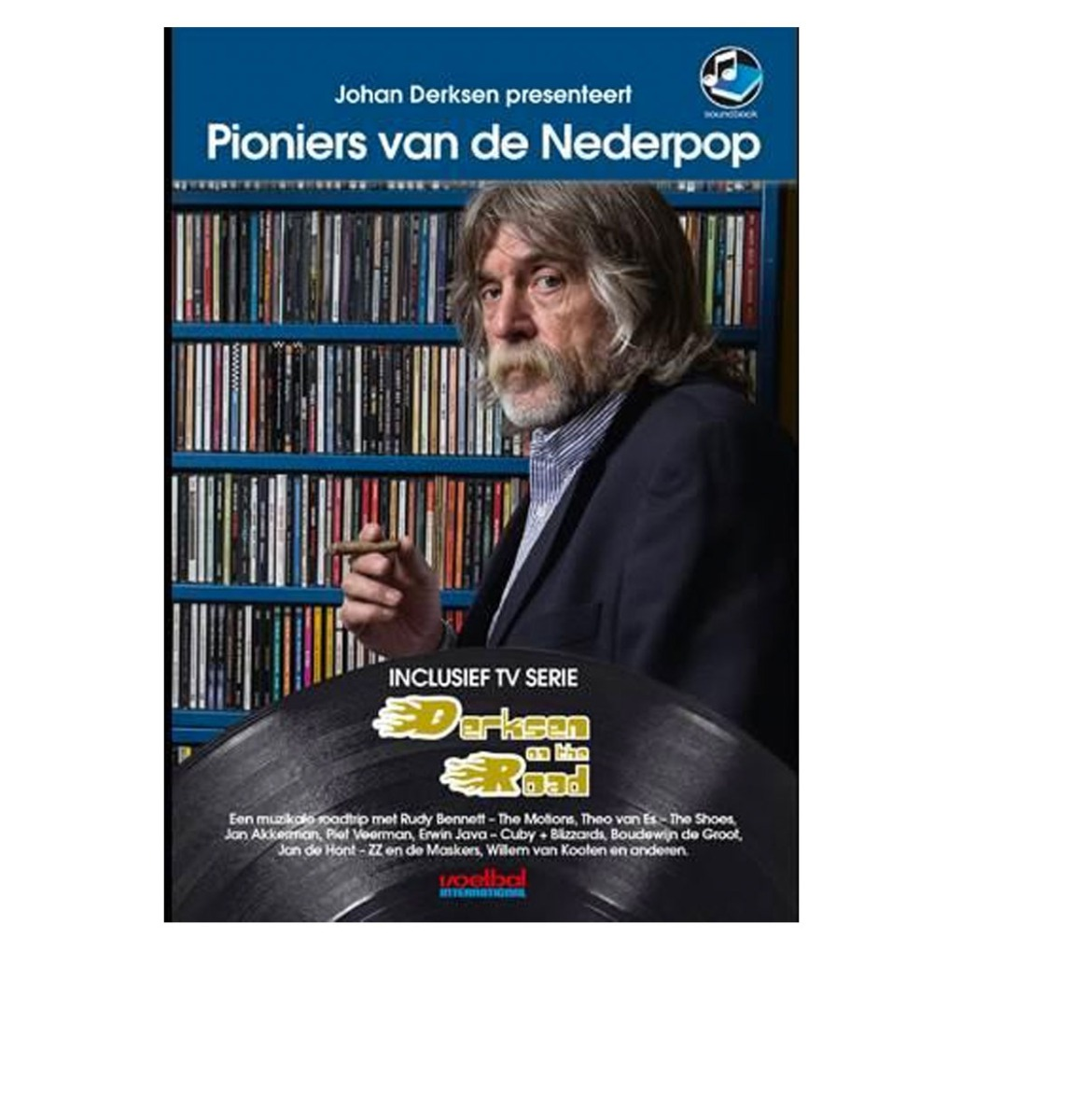 Pioniers Van De Nederpop - Johan Derksen - Boek + 2CD + 2DVD
