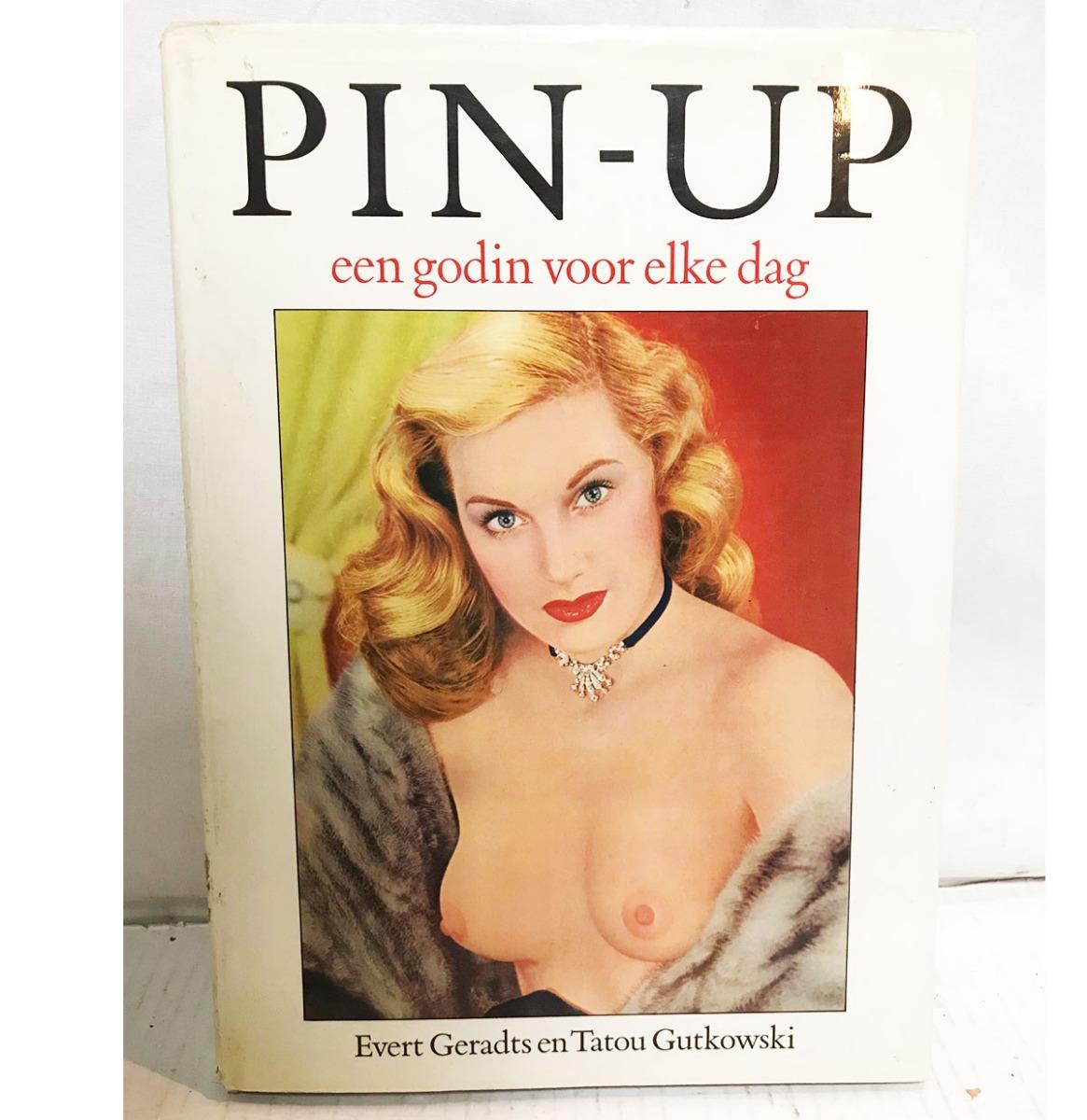 fiftiesstore Pin Up Girls Boek - Een Godin Voor Elke Dag Hardcover - Nederlands