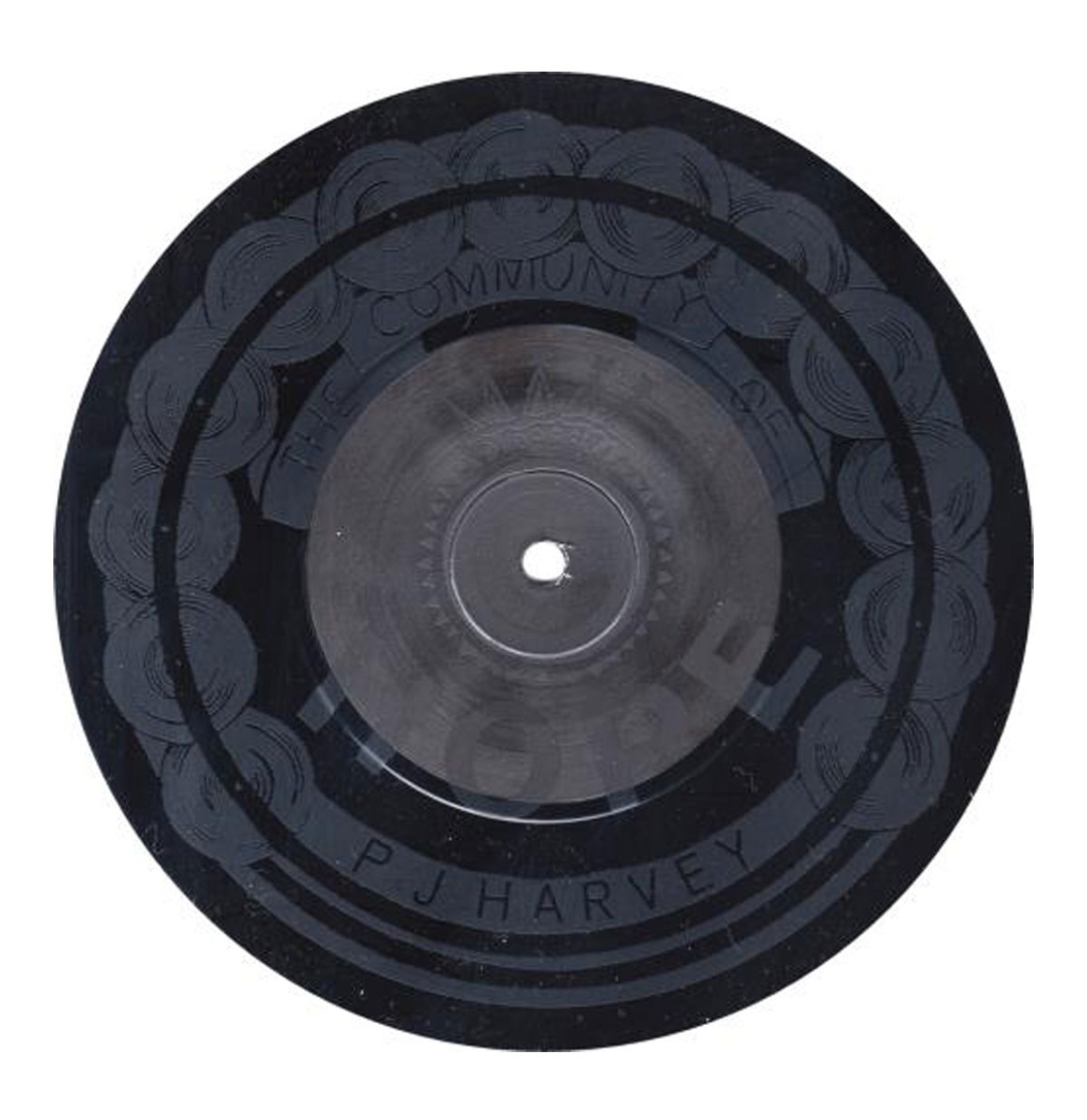 PJ Harvey - The Community of Hope Speciale Geëtste 7 Inch Single
