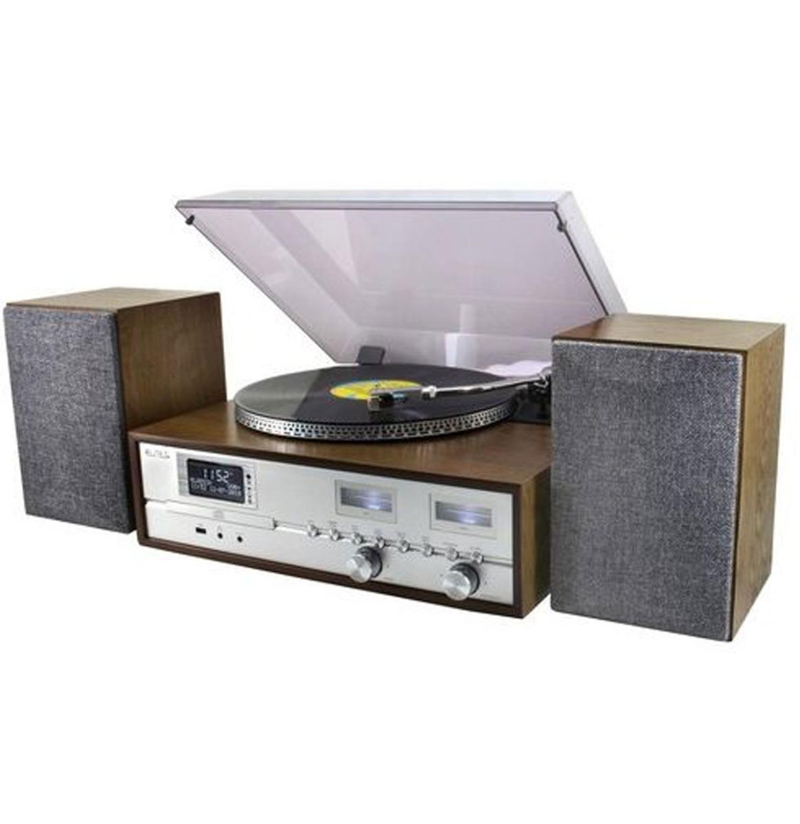 Soundmaster Elite PL880 Platenspeler Met DAB+ Radio En Bluetooth