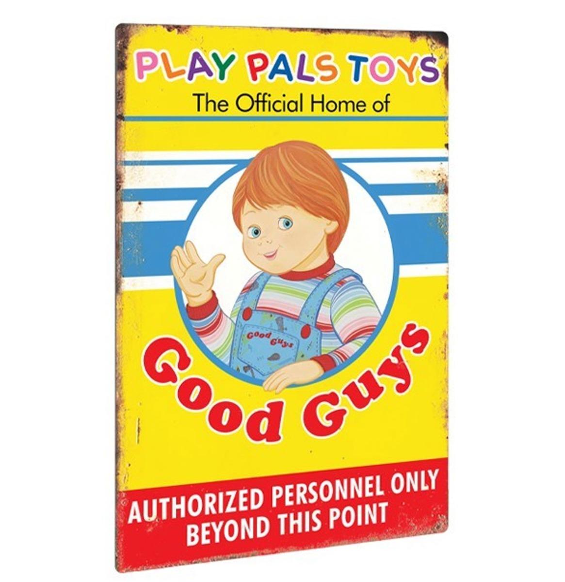 Child's Play 2: Play Pals Aluminium Bord 46 x 31 cm