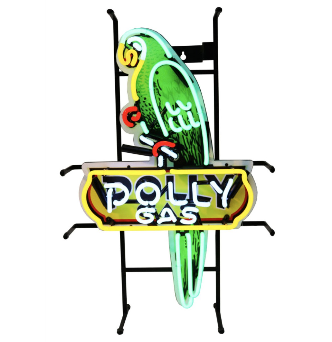 Polly Gas Parrot Shaped Neon Verlichting 42 x 65 cm