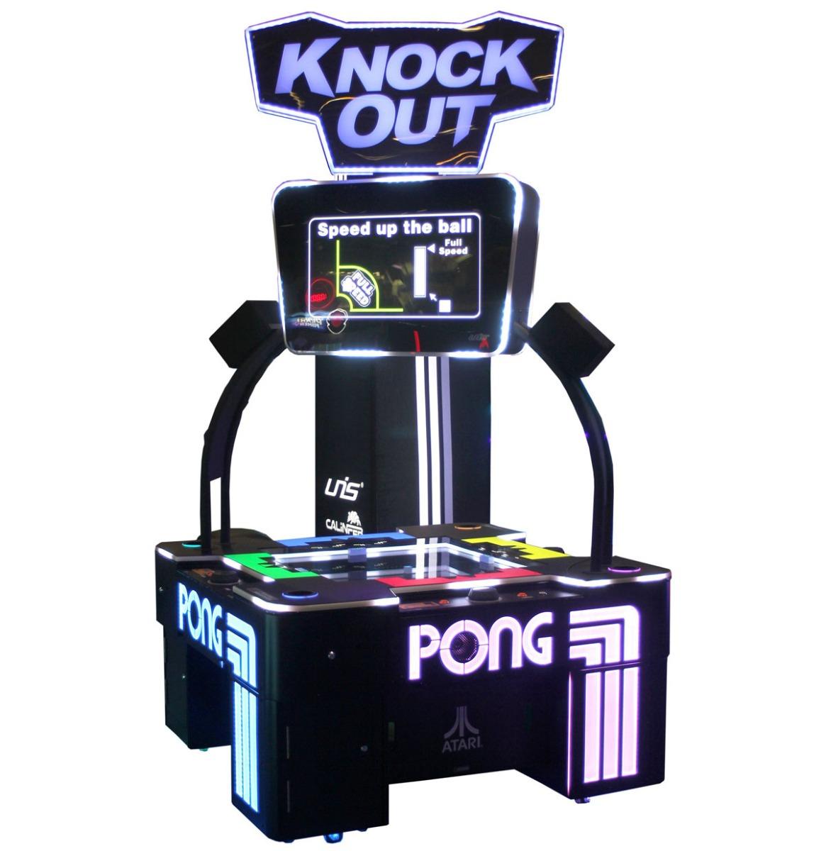 Atari Pong Knock Out Arcade Machine