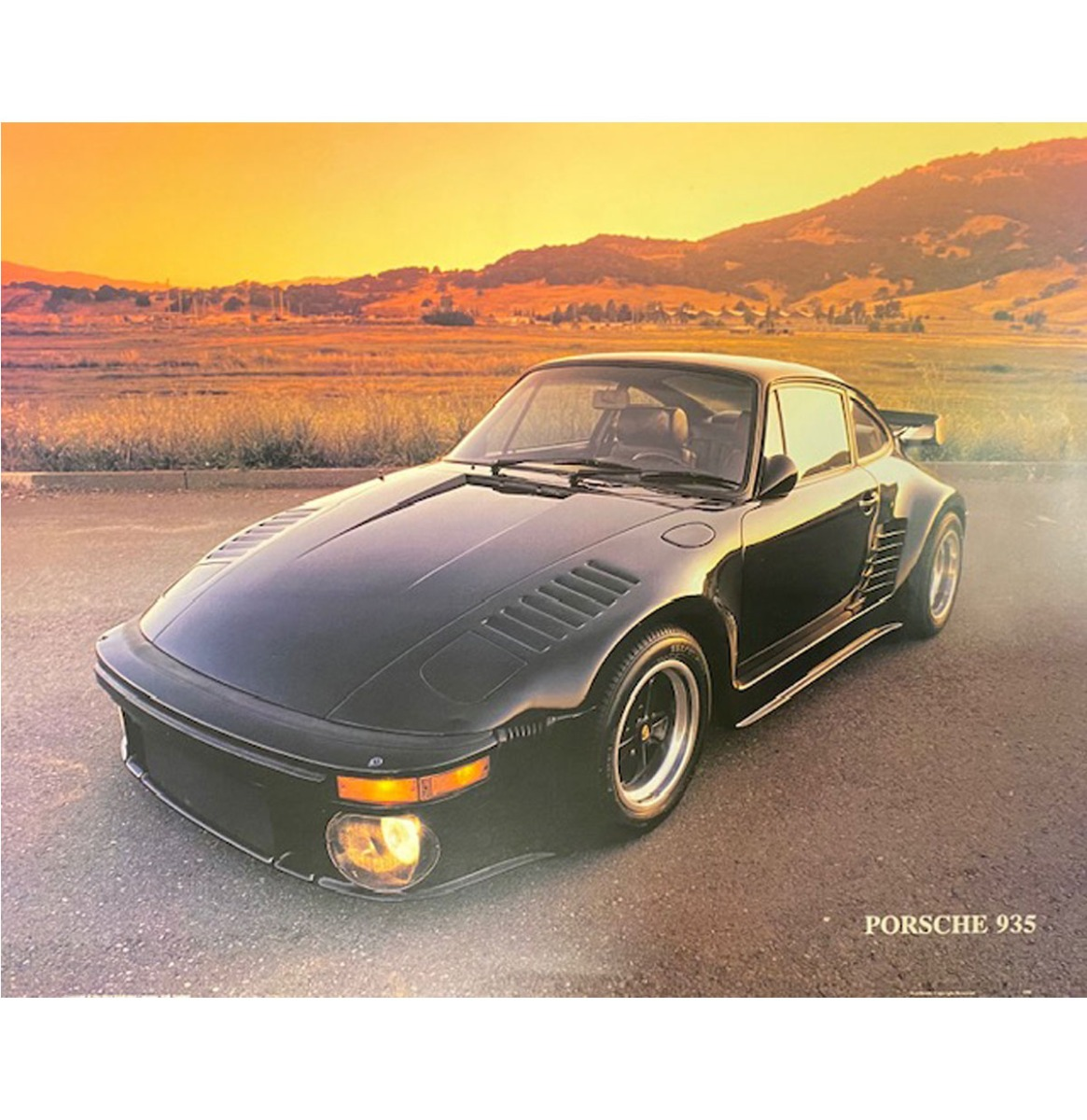 Auto Poster Porsche 935 40x50cm