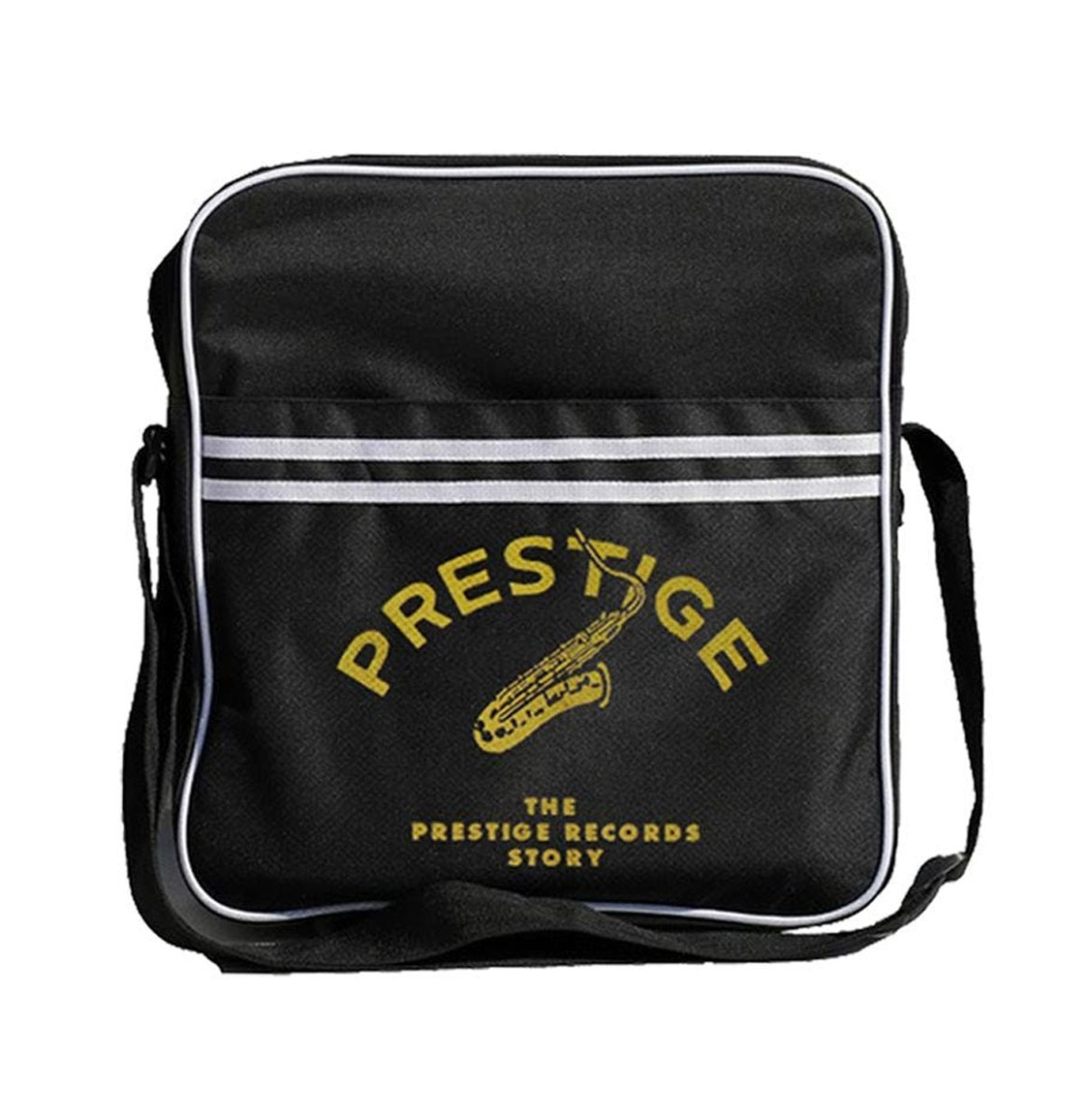 Prestige Records Zip Top Messenger Tas