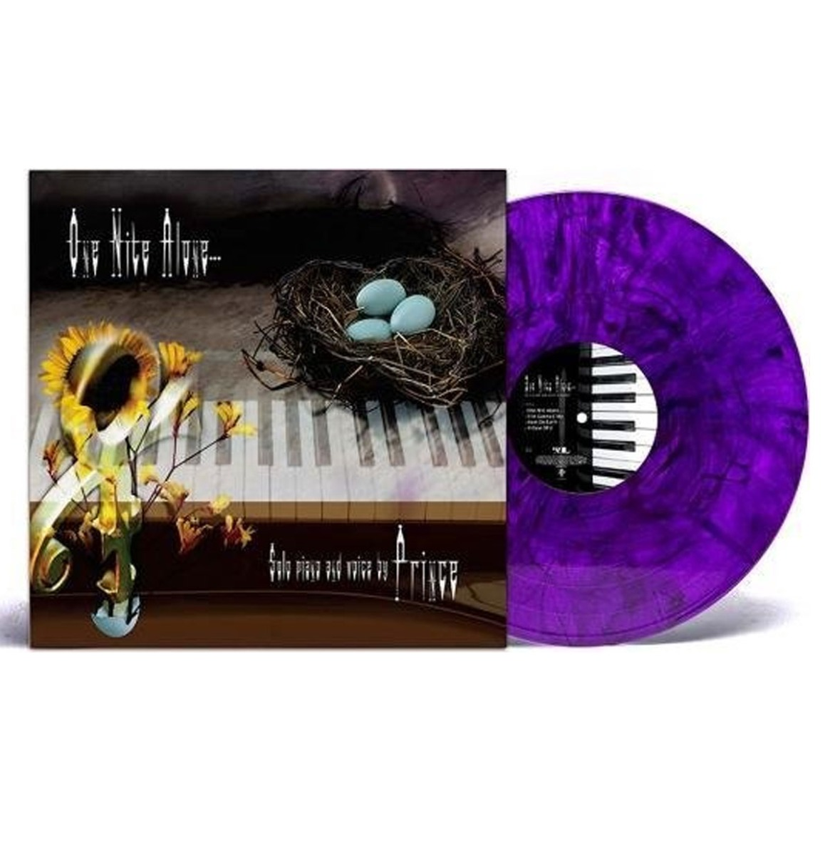 Prince - One Nite Alone (Solo Piano And Voice By Prince) LP - Paars Vinyl