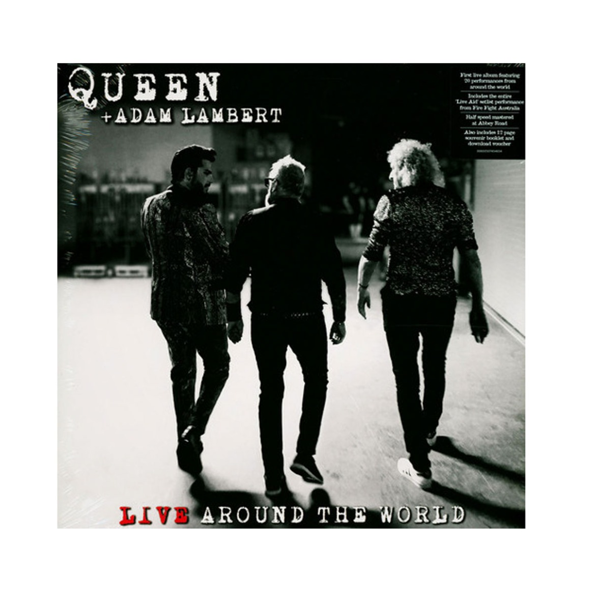 Queen & Adam Lambert Live Around The World LP