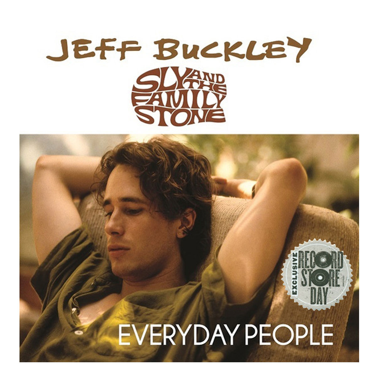 Jeff Buckley / Sly And The Family Stone - Everyday People Single