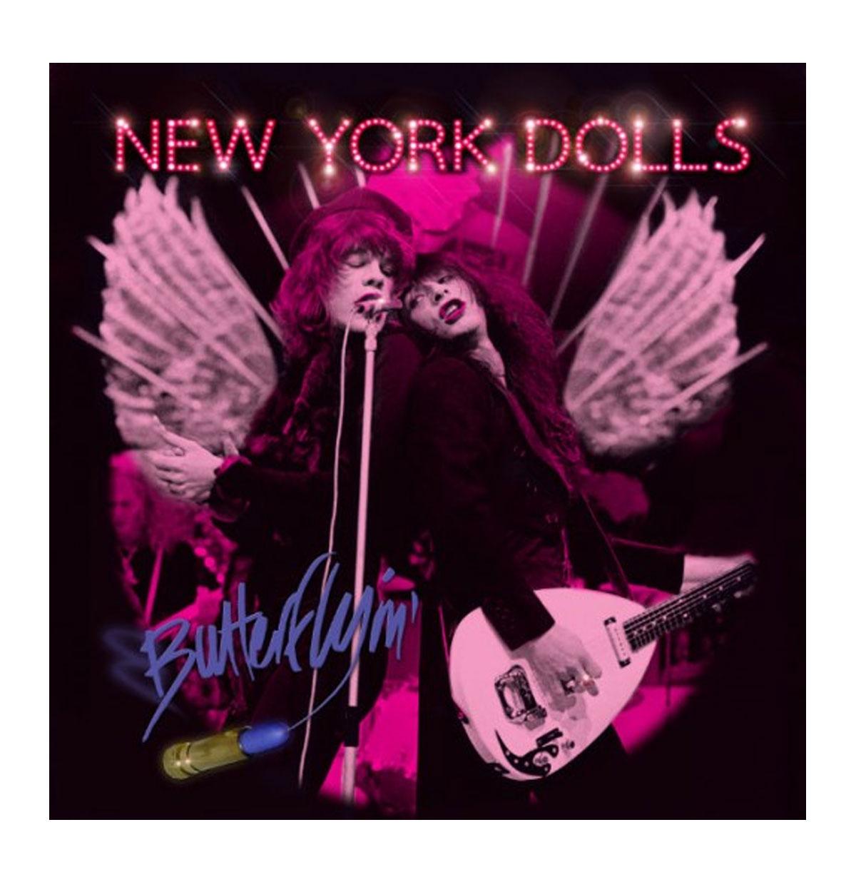 New York Dolls - Butterflyin' LP - LIMITED Pink Vinyl