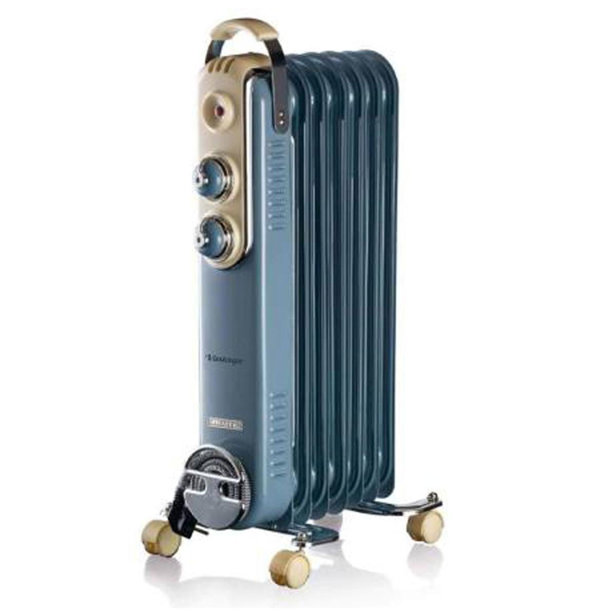 Ariete Elektrische Olieradiator - 7 Vinnen - Vintage Blauw