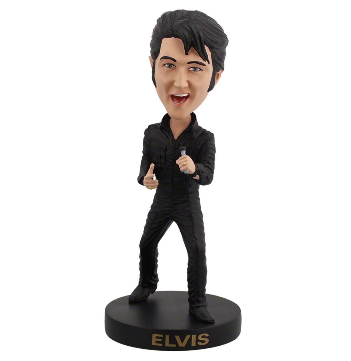 Elvis: Black Leather Suit - '68 Comeback Bobblehead