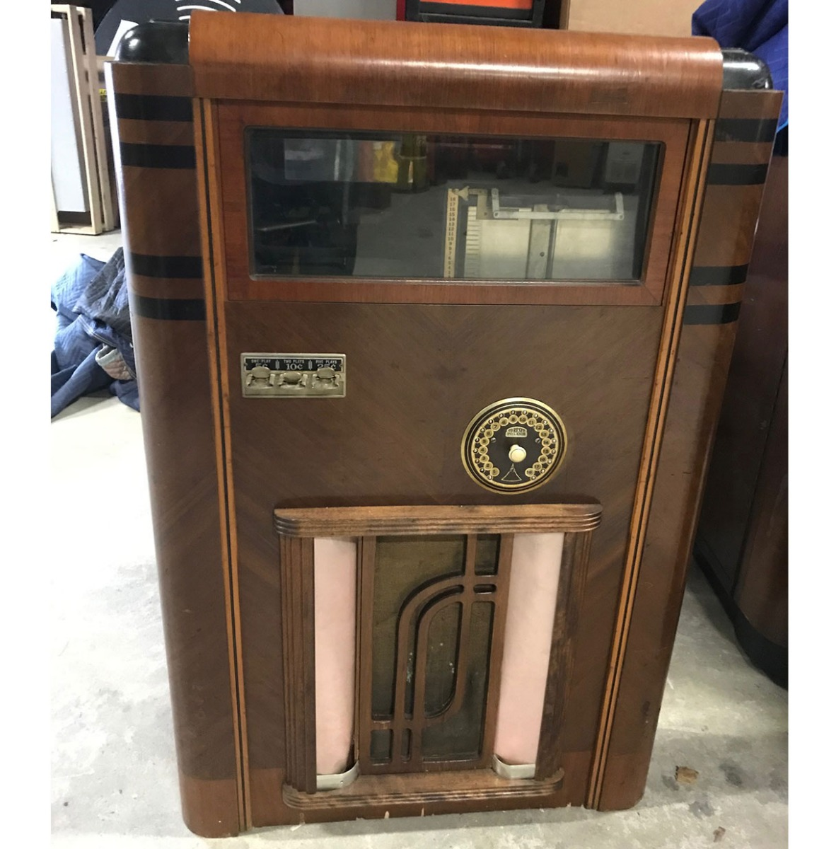 Gabel Charme Jukebox 1937 - Origineel