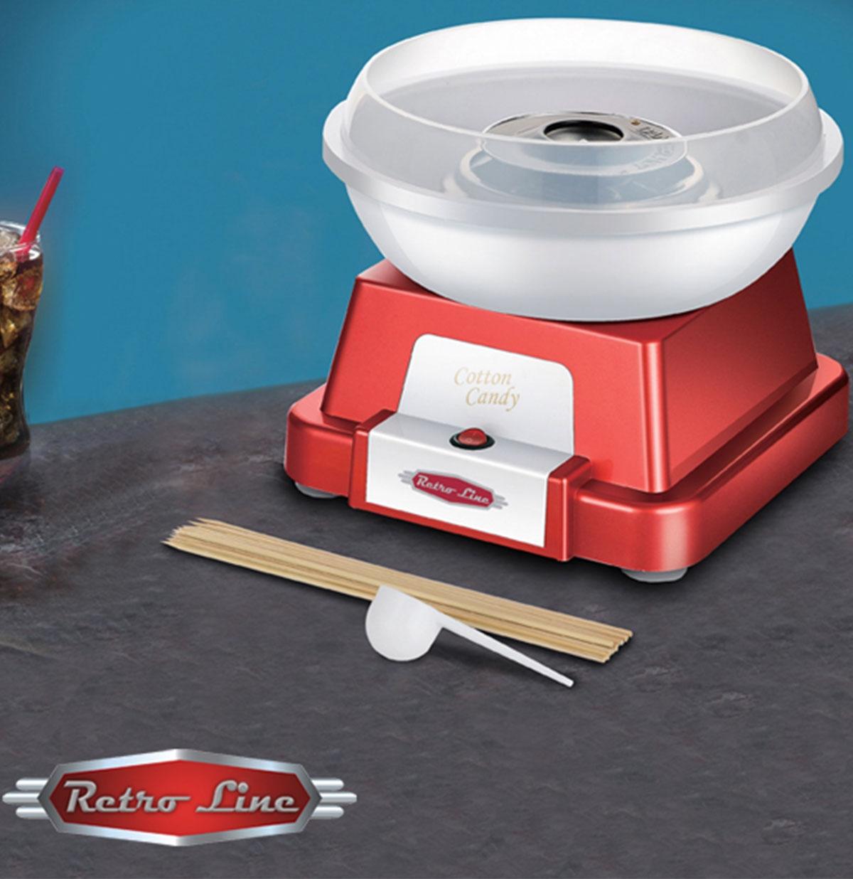 Retro Stijl Suikerspin Maker - Red