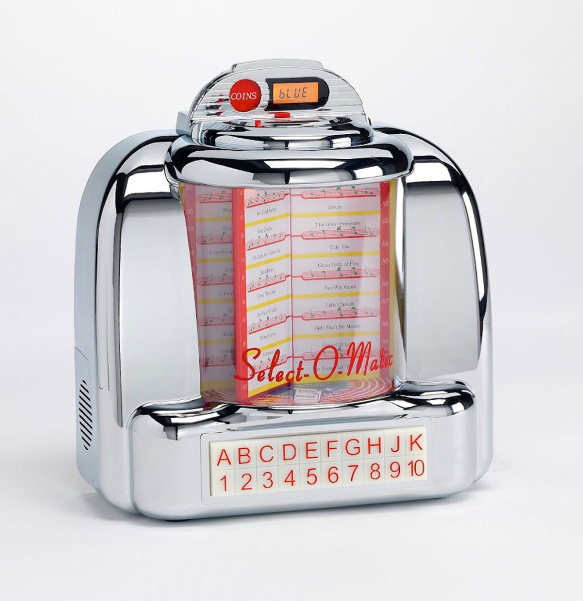 Select-O-Matic American Diner Wall Box Jukebox Radio - USB - SD - Bluetooth - Aux