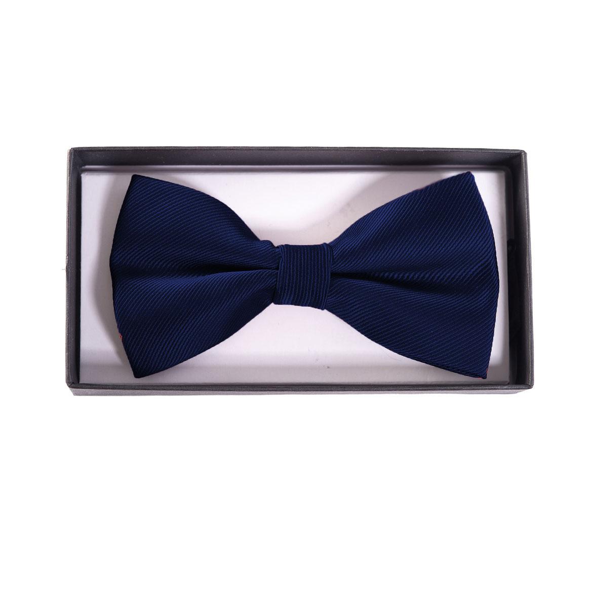 Banned Ribbon Dance Bow Tie Strik Navy