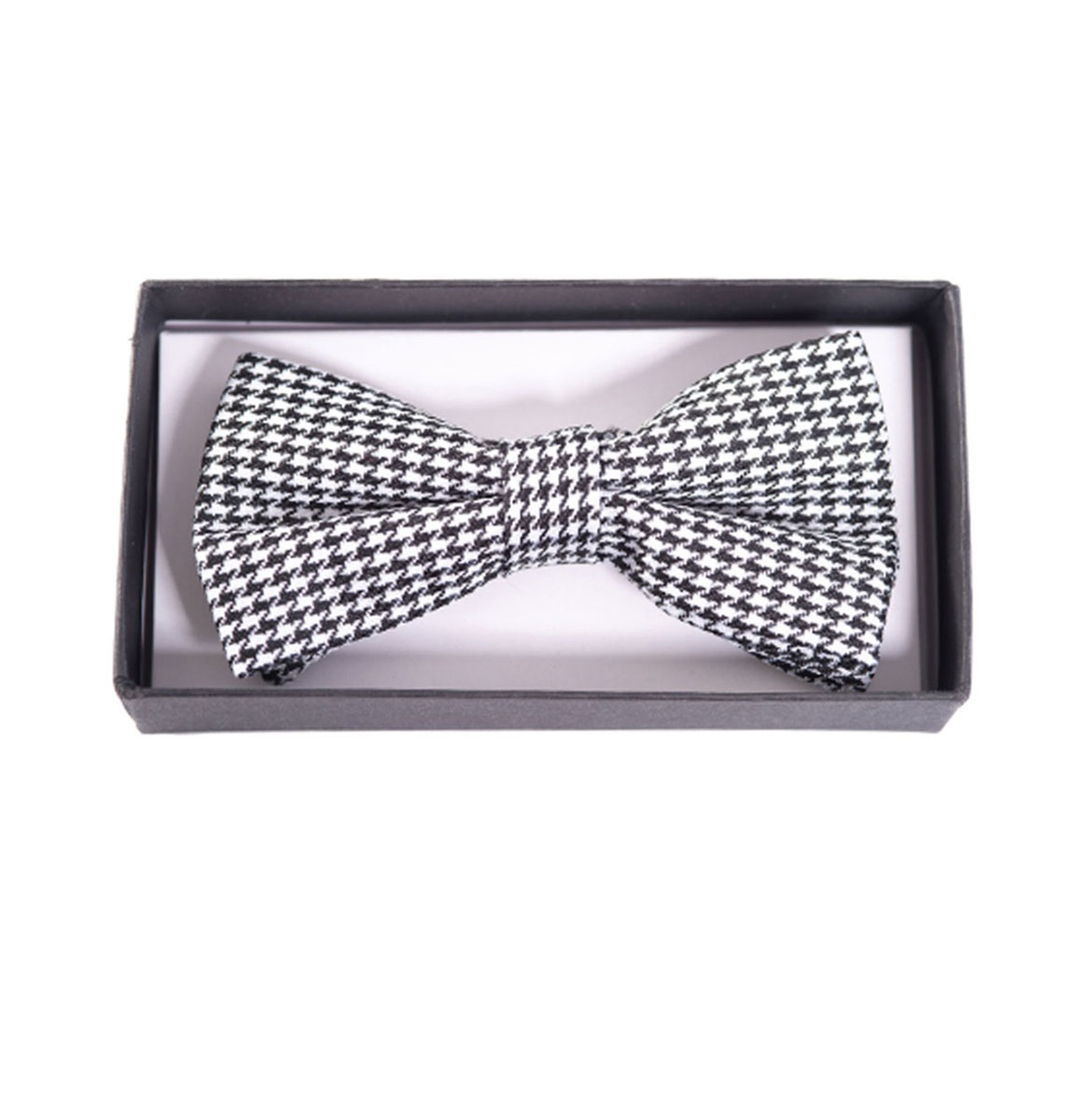 Ribbon Dance Bow Tie Houndstooth