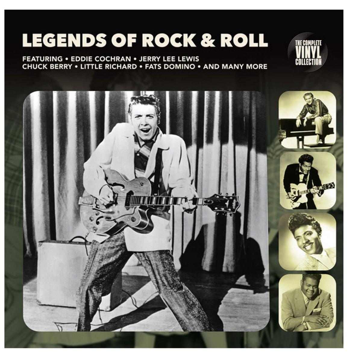 Various Artists - Legends Of Rock & Roll Vinyl Album LP