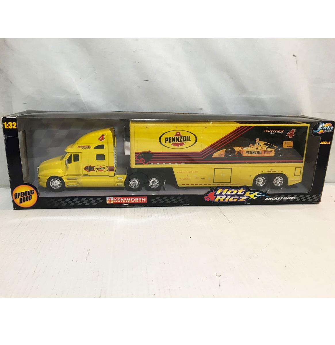Rigz Pennzoil 1:32 Schaalmodel Kenworth Vrachtwagen