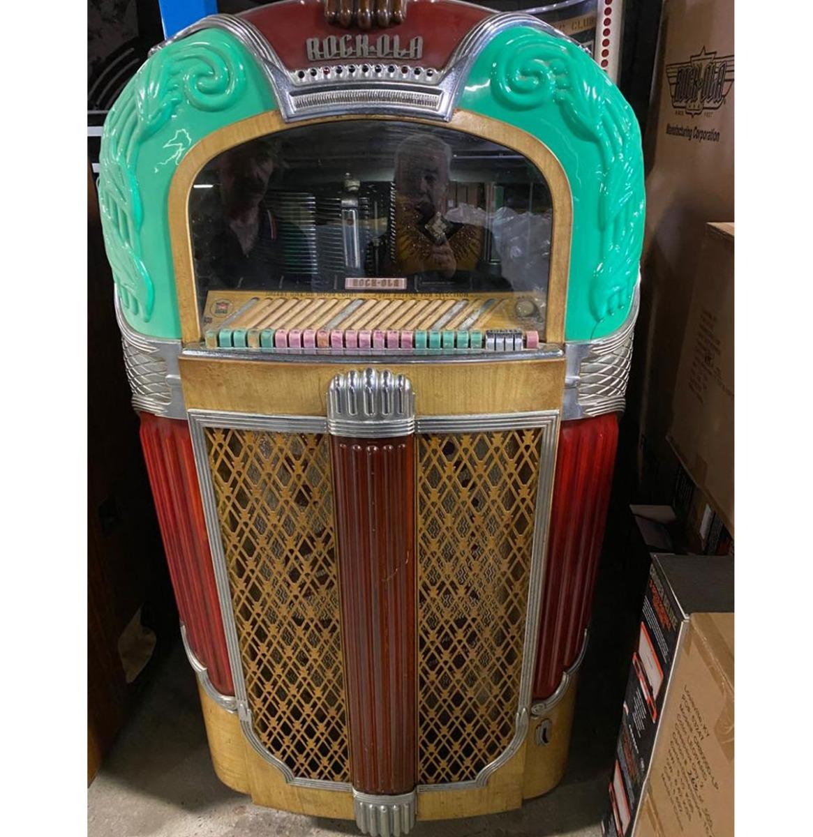Rock-Ola 1428 Jukebox - 1946 - Origineel - 20 Select