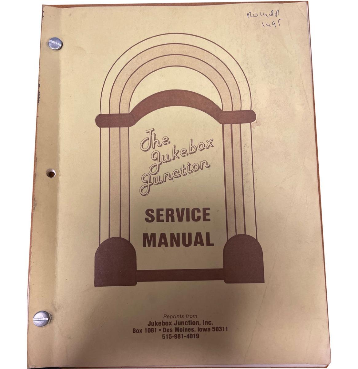 Rockola 1488/1495 Parts And Instruction Manual Kopie