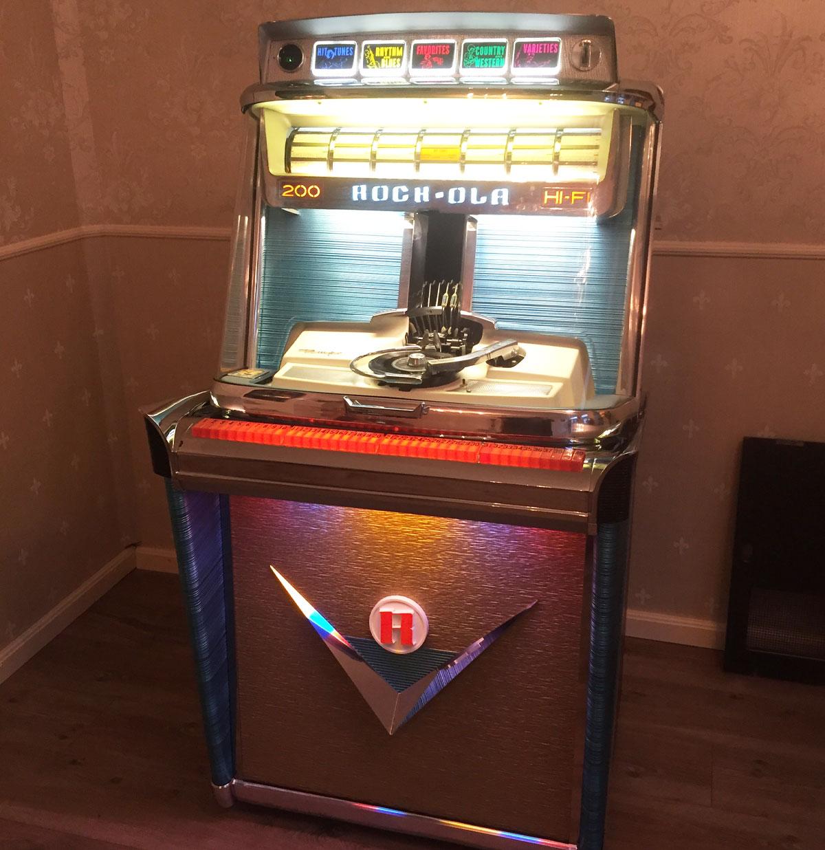 Jukebox Rock-Ola 1475 - Tempo 1 - 200 select 1959