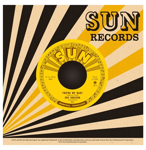 Single: Roy Orbison - You're My Baby - Rockhouse (Sun)