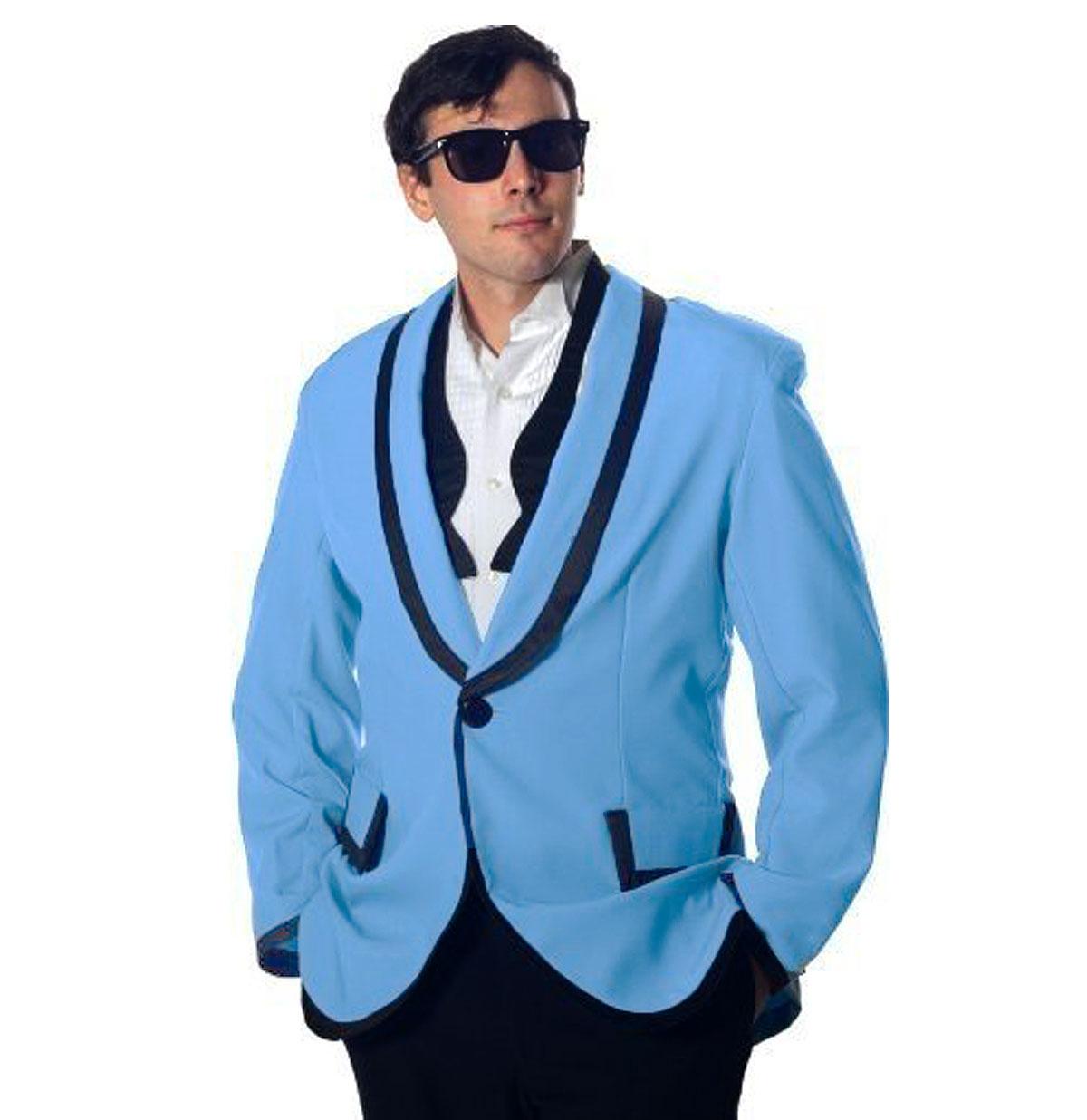 Rock 'n Roll Jacket Licht Blauw