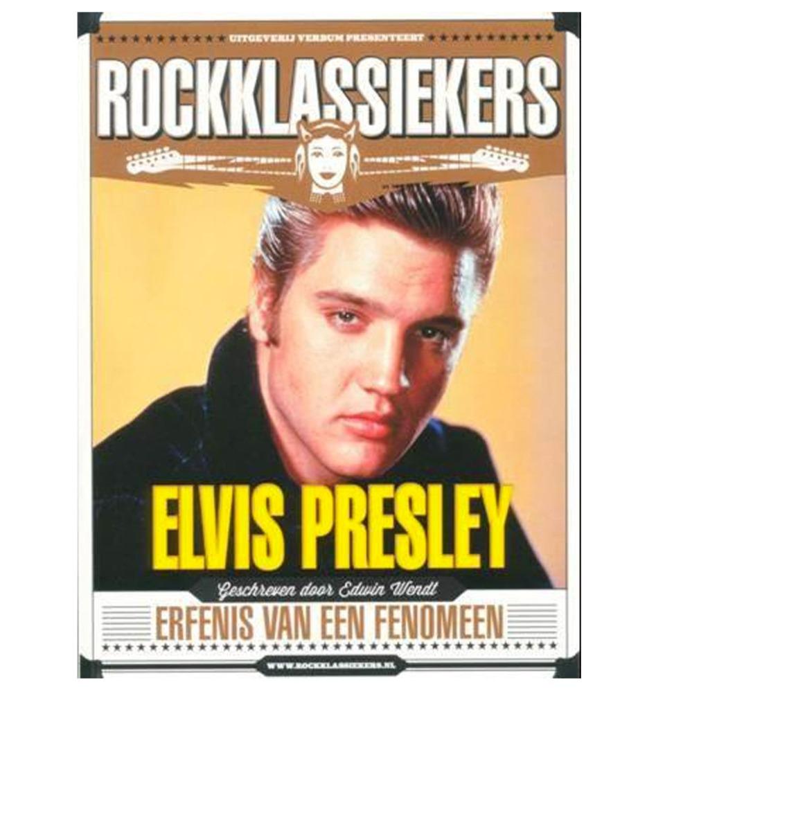 Rockklassiekers: Elvis Presley - Boek