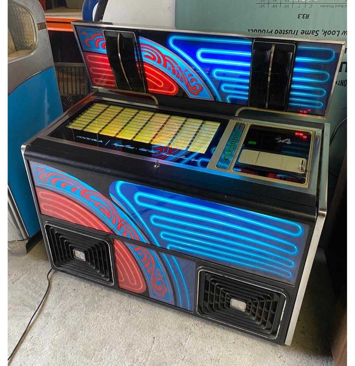 Rock-Ola 464 Jukebox 1976. Werkend Met Prachtig Geluid!