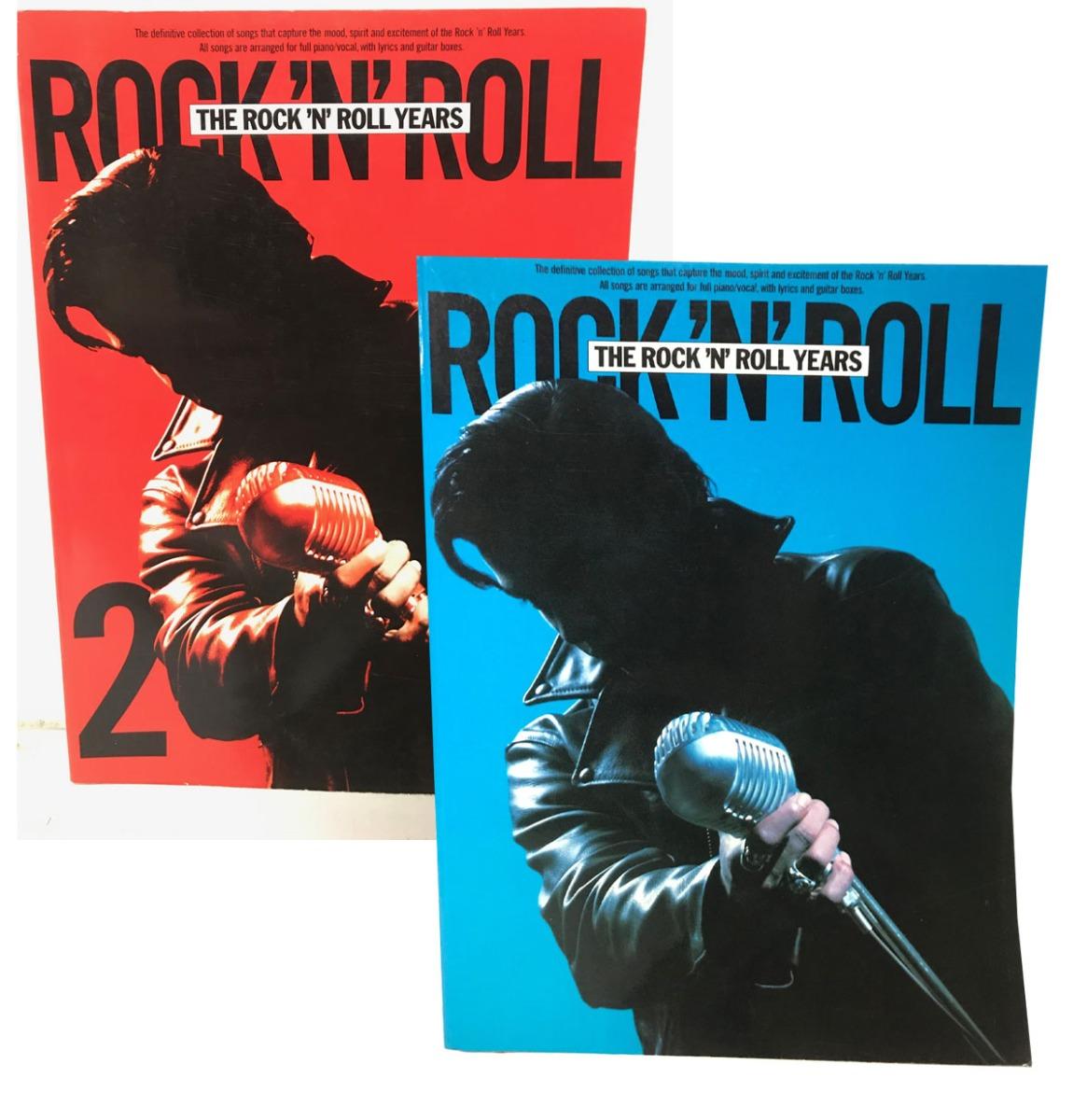 The Rock 'n' Roll Years 1 & 2 Music And Lyrics Boeken