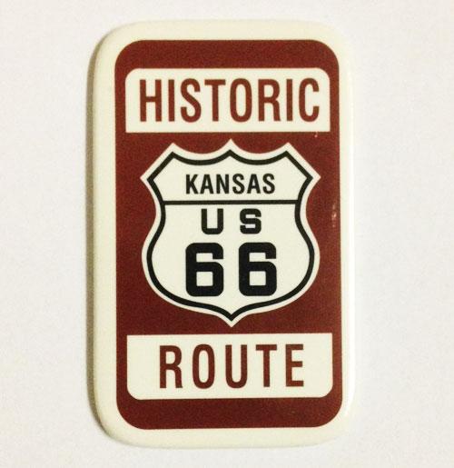 Historic Route 66 Kansas Magneet