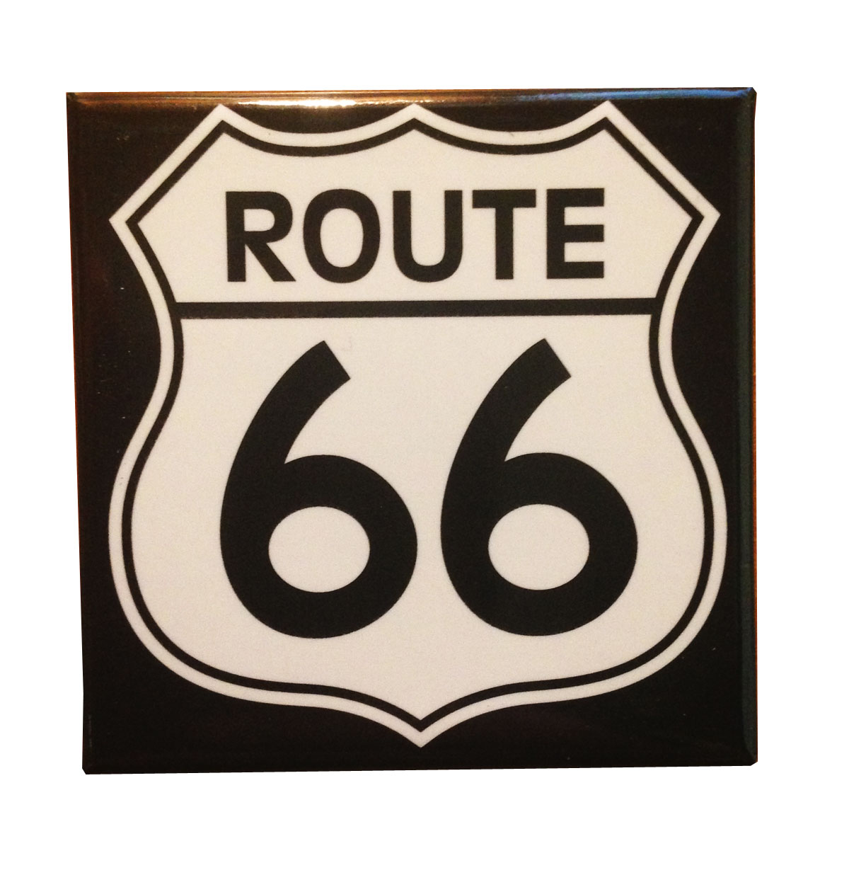 Route 66 Logo Magneet