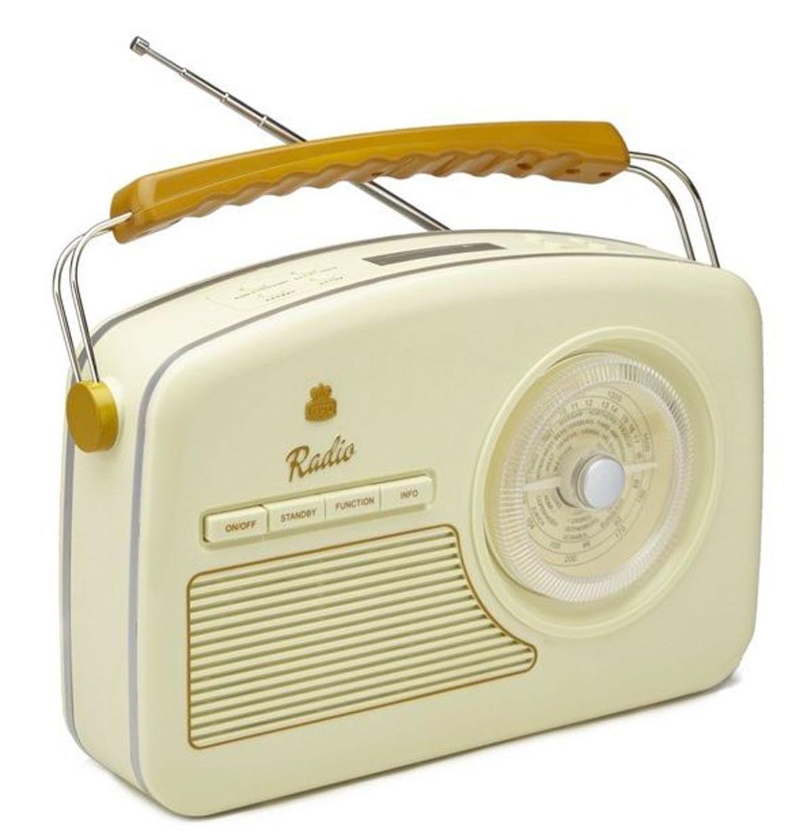 GPO Rydell DAB+ Radio - Beige