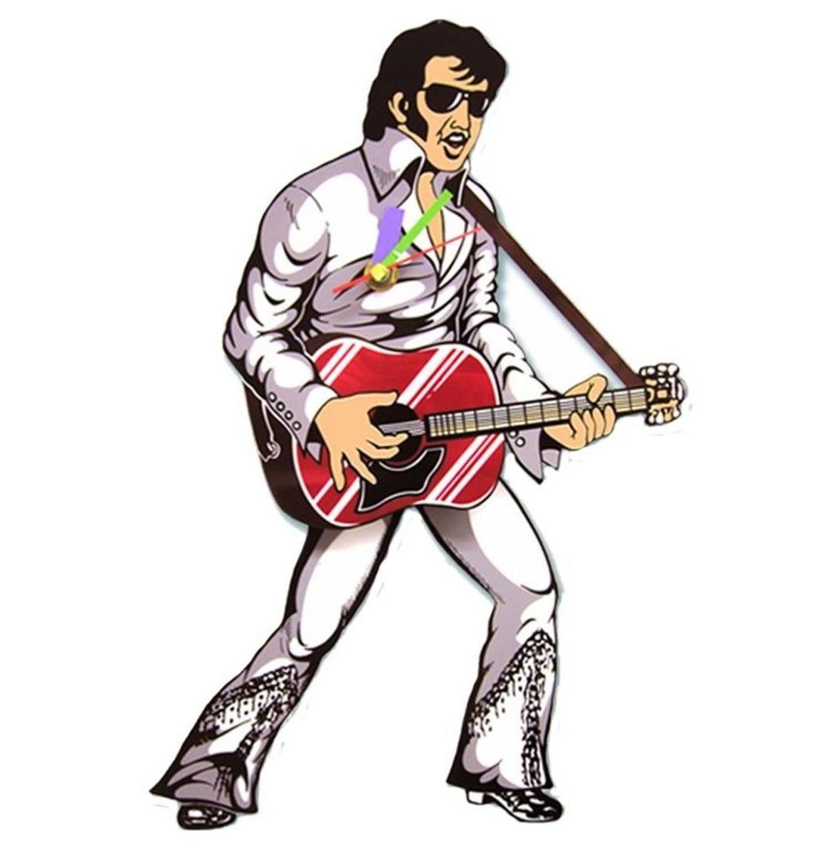 Rockstar Elvis Presley Wit Klok