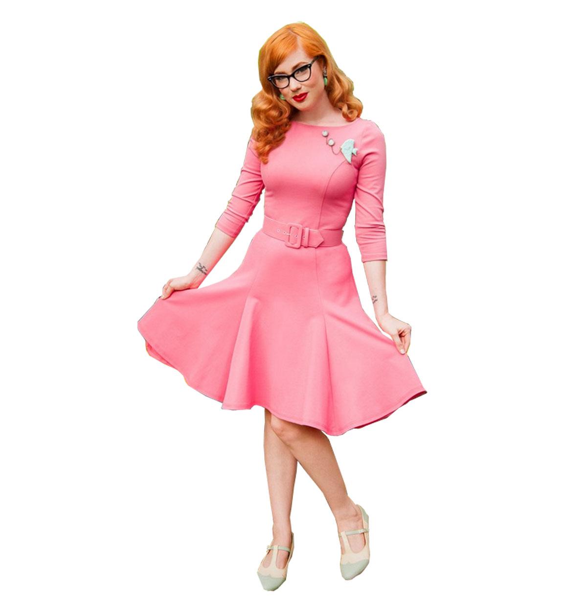 Sabrina Dress Coral