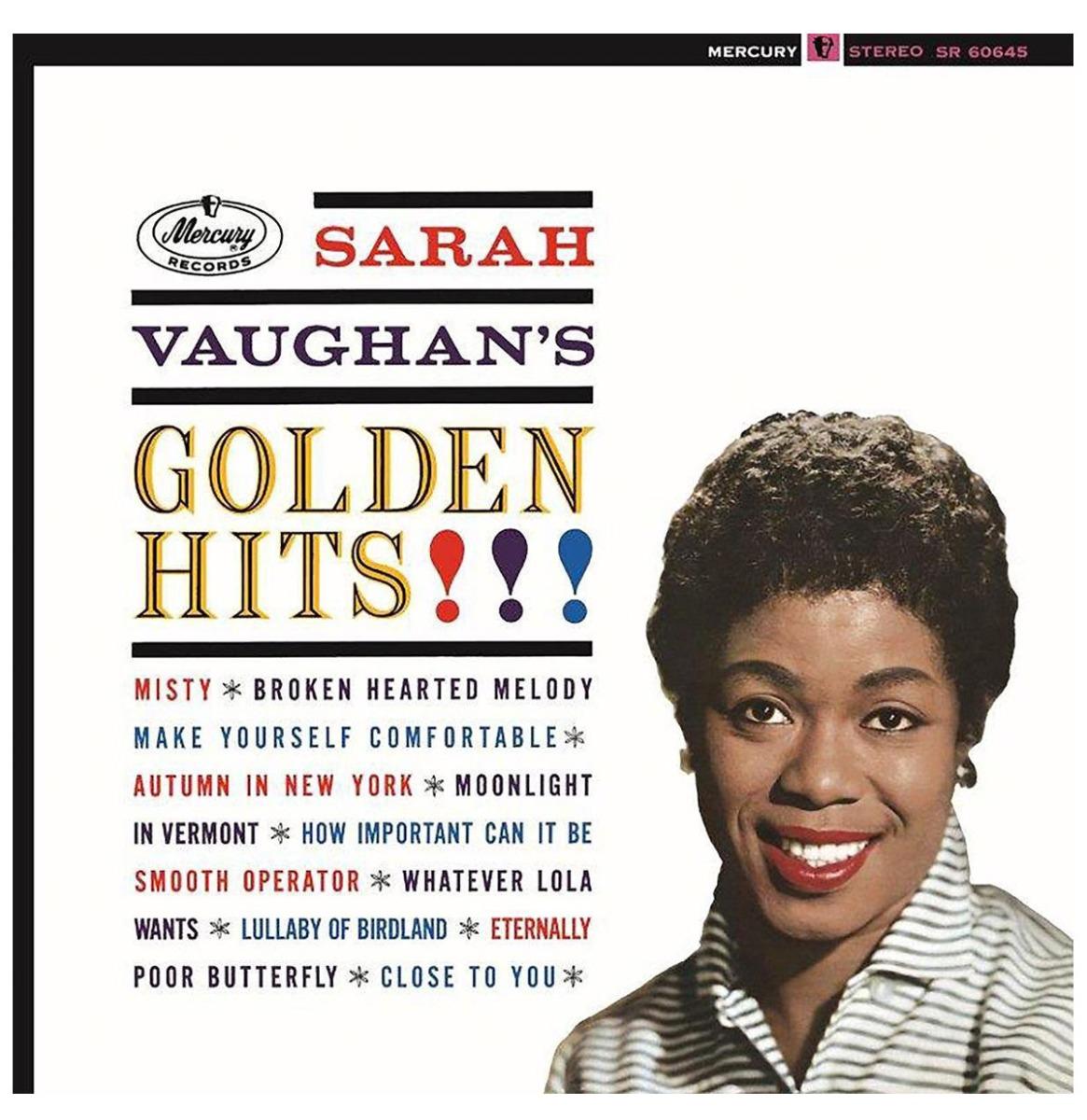 Sara Vaughan's Golden Hits LP
